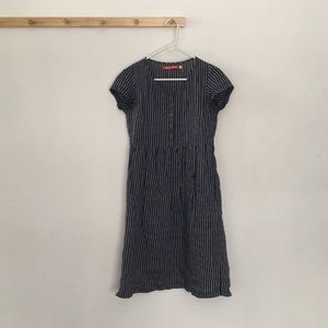 193dbdd768 Pyne and Smith Clothiers Dresses - Pyne and Smith Clothiers Linen Striped  Dress